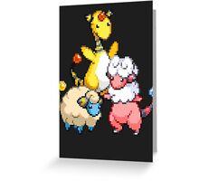 Mareep Evolutions Greeting Card