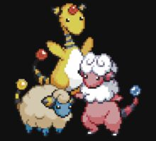 Mareep Evolutions by Flaaffy