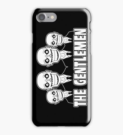 The Gentlemen Logo iPhone Case/Skin