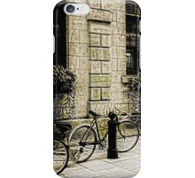Tandem Bicycle and Flowers iPhone Case/Skin