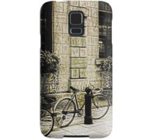 Tandem Bicycle and Flowers Samsung Galaxy Case/Skin