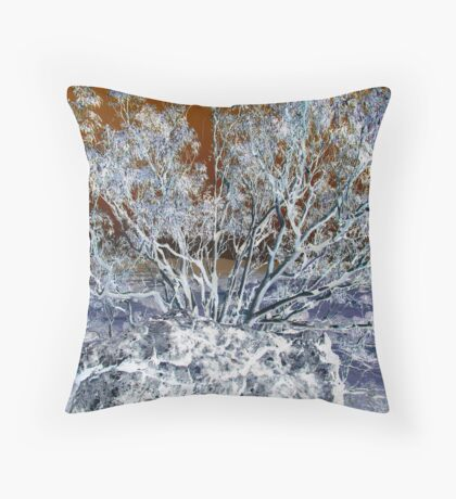 Rocky Gum-(Inverted) Throw Pillow