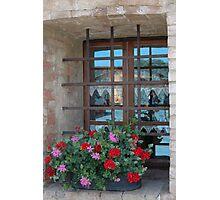 Tuscan Windowsill Photographic Print