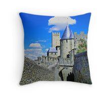 Carcassonne Throw Pillow