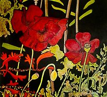 Poppies by Susan Duffey