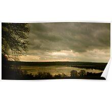 black isle landscape Poster