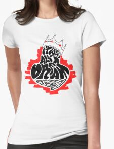 It was all a dream.. Womens Fitted T-Shirt