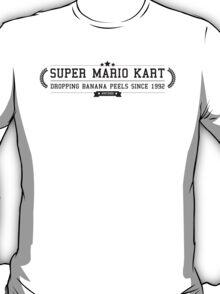 Super Mario Kart - Retro Black Clean T-Shirt