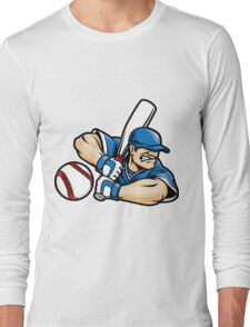 Baseball Fury Long Sleeve T-Shirt