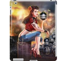 SheVibe Bomb Girl Cover Art iPad Case/Skin