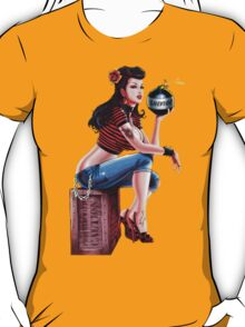 SheVibe Bomb Girl Cover Art T-Shirt