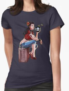 SheVibe Bomb Girl Cover Art T-Shirt