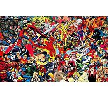Classic Marvel Photographic Print