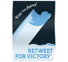 Twitter Propaganda Poster Poster