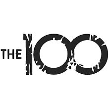 the 100 logo by Angelr0se