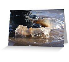 Splish Splash.... Greeting Card