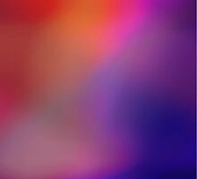 Colorful Magenta Pink Purple and Red Abstract Glow by Christina Katson