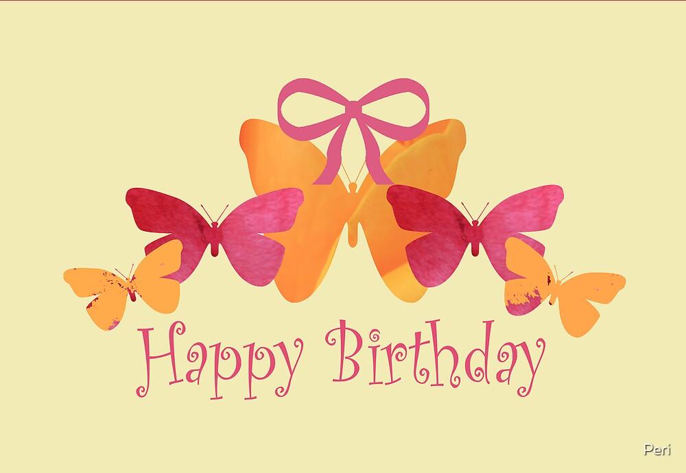 Happy Birthday by Peri