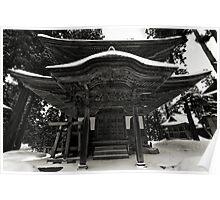 Nozawa Temples Poster