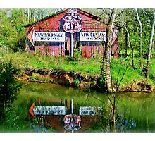 462 miles to New Orleans Photographic Print