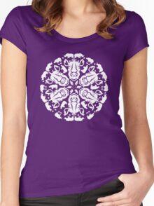 Rhino ZOOFLAKE Women's Fitted Scoop T-Shirt