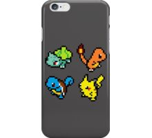 First Gen Starters iPhone Case/Skin