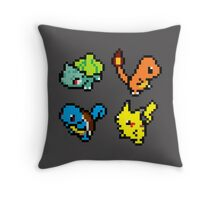First Gen Starters Throw Pillow
