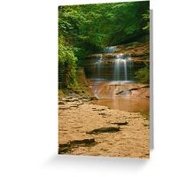 Buttermilk - Upper Falls, Ithaca, NY Greeting Card