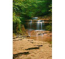 Buttermilk - Upper Falls, Ithaca, NY Photographic Print
