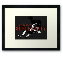 Welcome To Suplex City Framed Print