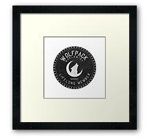 WOLFPACK Worldwide Framed Print