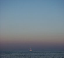 The Lone Sailor by AGODIPhoto