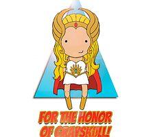 For the Honor of Grayskull!  by mimiboo