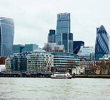 Downtown London by PatiDesigns