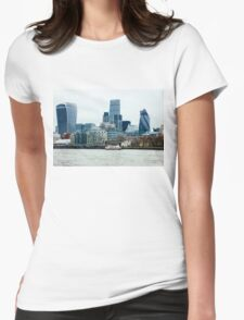 Downtown London Womens Fitted T-Shirt