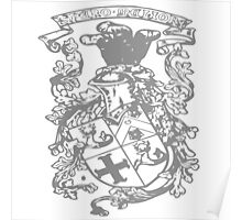 A Complete Guide to Heraldry - Figure 394 — Armorial bearings of Marindin Poster