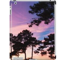 Sunset - Clouds, wind and trees #2 iPad Case/Skin