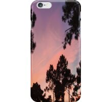 Sunset - Clouds, wind and trees #3 iPhone Case/Skin