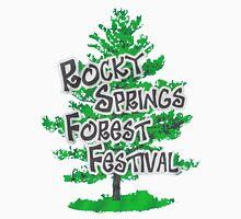 Rocky Springs Forest Festival Men's Baseball ¾ T-Shirt