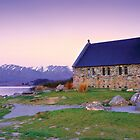Church of the Good Shepherd (Lake Tekapo NZ) by Dean Prowd Panoramic Photography