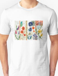Birds with flowers T-Shirt