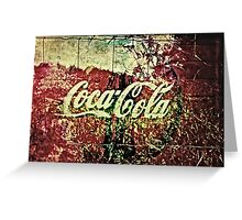 Coca-Cola Fields Greeting Card