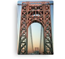 George Washington Bridge-NYC Canvas Print