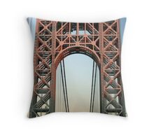 George Washington Bridge-NYC Throw Pillow