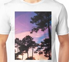 Sunset - Clouds, wind and trees #2 Unisex T-Shirt