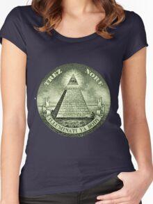 Illuminati Women's Fitted Scoop T-Shirt