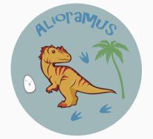 Cute Alioramus Kids Clothes