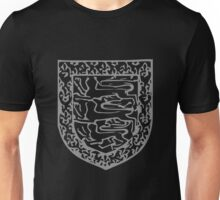 A Complete Guide to Heraldry - Figure 710 — Henry de Holand, Duke of Exeter, son of preceding Arms as preceding (From his seal, 1455) Unisex T-Shirt