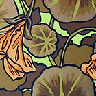 Nasturtiums by Orla Cahill