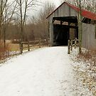 The Covered Bridge by LeeMascarello
